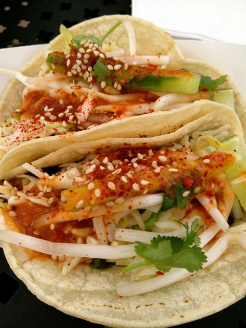 Bulgogi and Pork Tacos