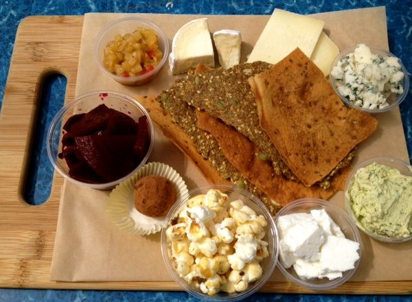Oregon Cheese Lovers Plate from The Cheese Plate