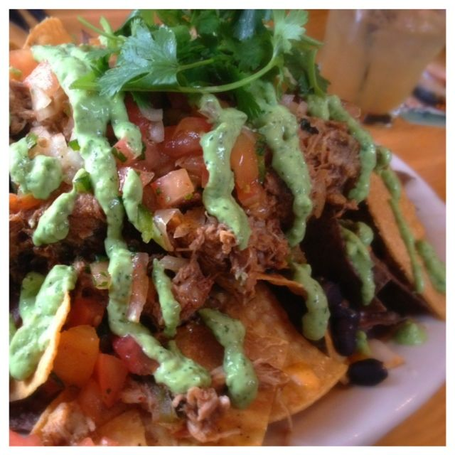 Pork Carnita Nachos