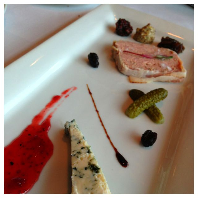 Appetizers at Bistro Marquee
