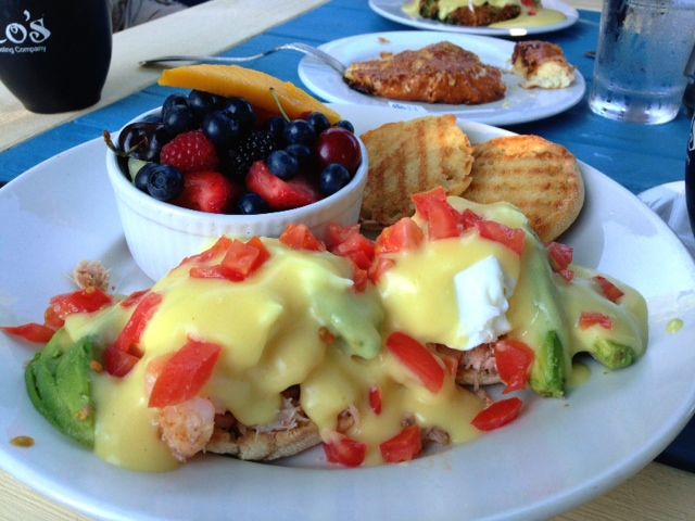 Seafood Eggs Benedicts