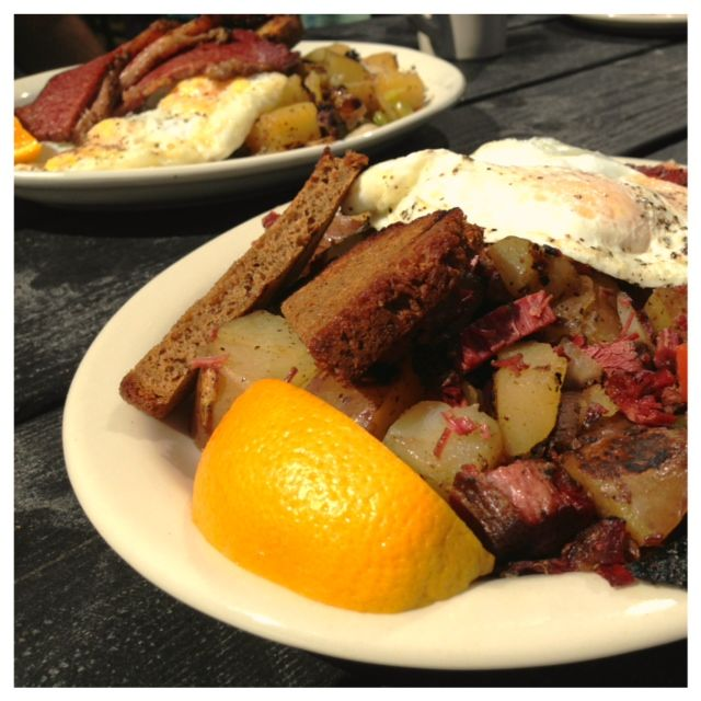 Corned Beef Hash from Kenny & Zukes Deli Bar