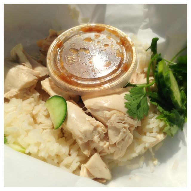 Chicken and rice from Nong's Khao Man Gai