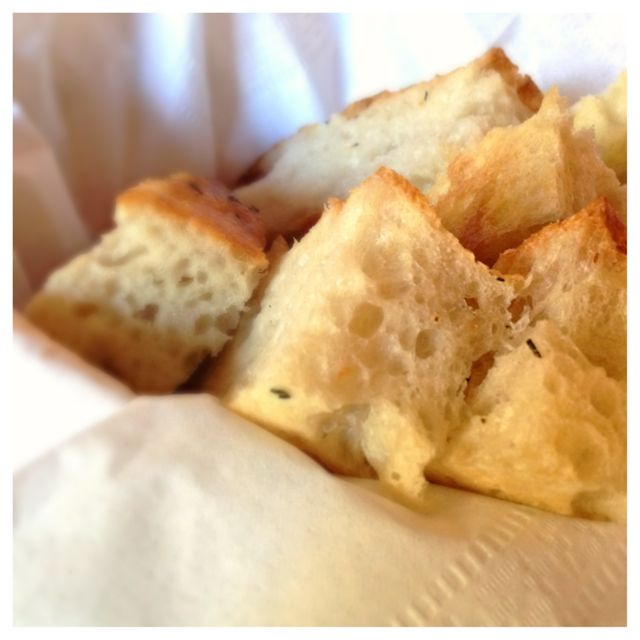 Great bread, perfect for dipping in the soup or accompaniment to a great salad.