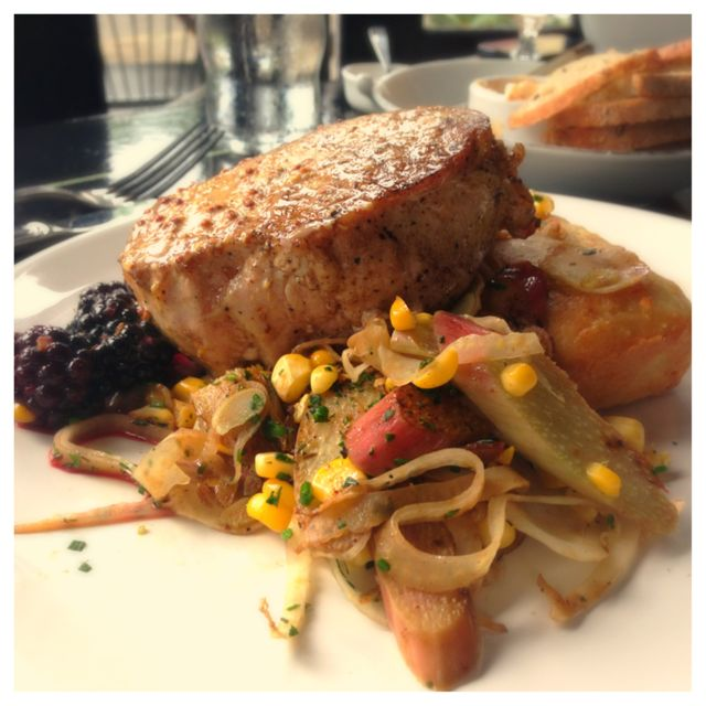 One of the best Pork Chops I have had in Portland