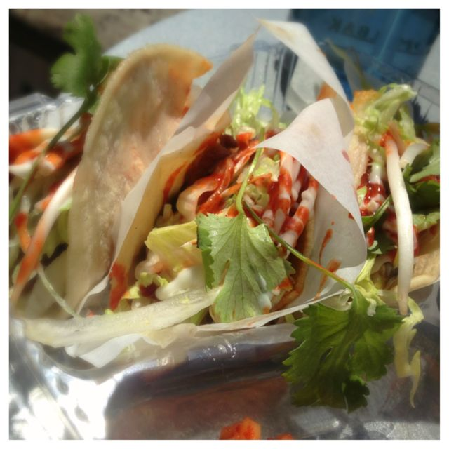 Korean Twist Spicy Pork Tacos