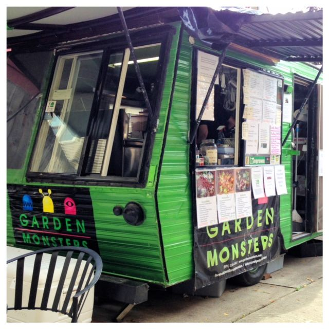 Garden Monster. Portland's Only Salad Food Cart