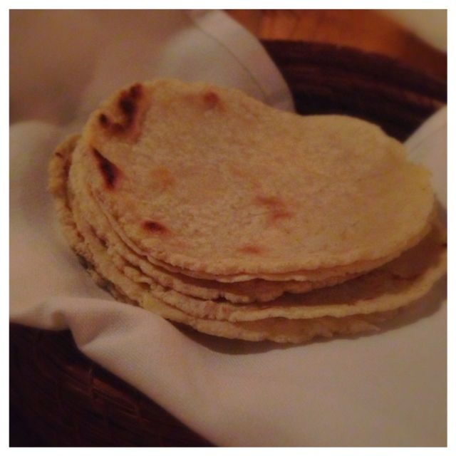 House made corn tortillas
