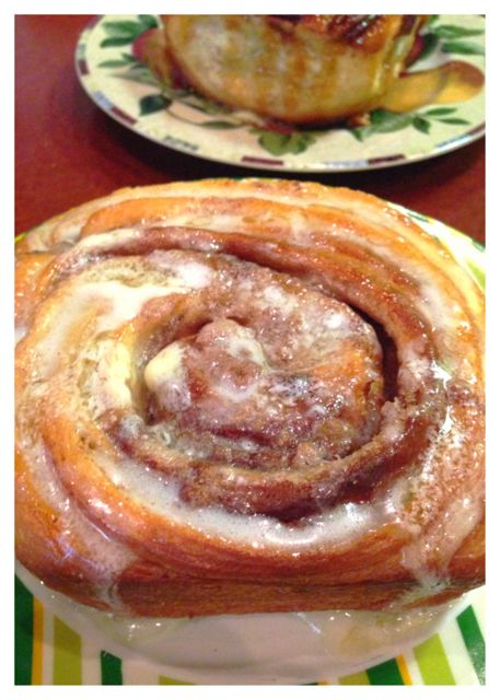 Cinnamon rolls from Sugar Mama's