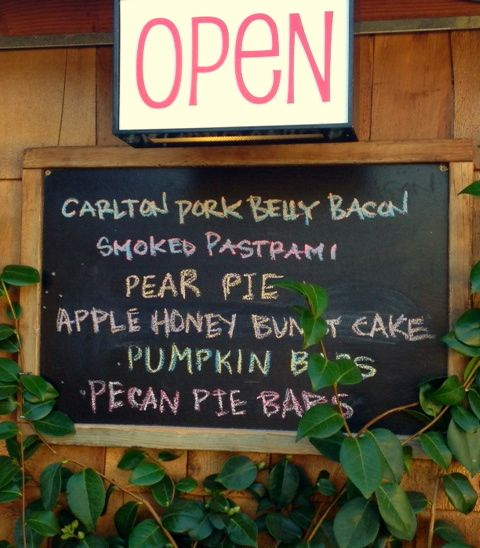 A few items you will find at Pine Shed Ribs and BBQ
