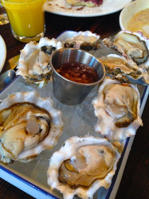 Oysters for Breakfast.
