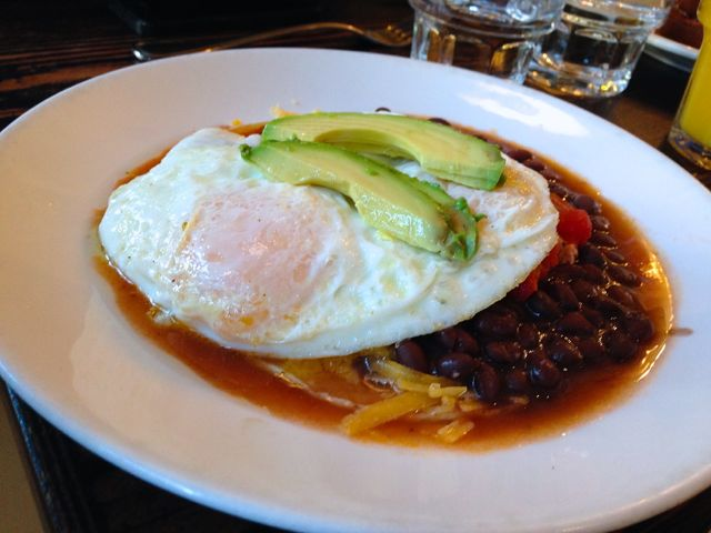 Huevos Rancheros from Cafe Nell