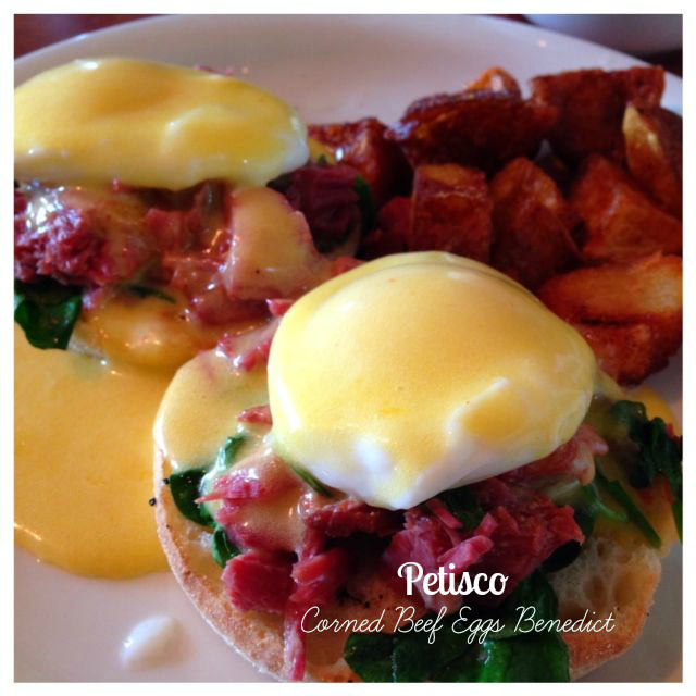 Beautiful and flavorful Eggs Benedict