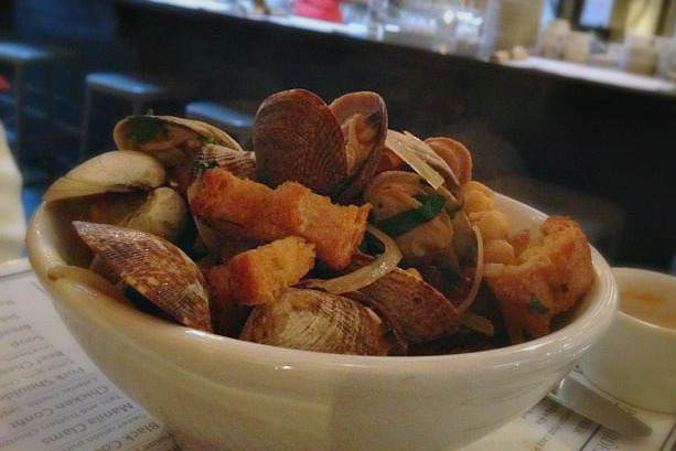 Manila Clams from Radar