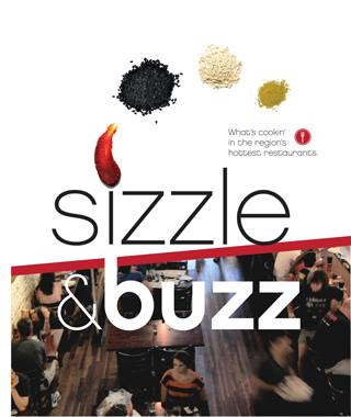 sizzle & Buzz recipe book