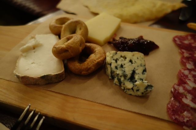 Cheese sampler from Ava Gene's