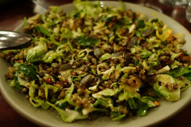 Ava Gene's Brussels Sprout Salad