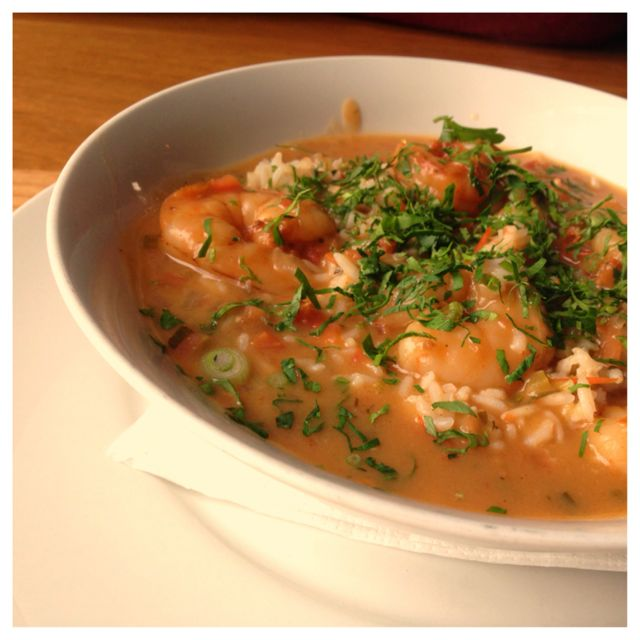 Shrimp Etouffee from The Parish in Portland, Or