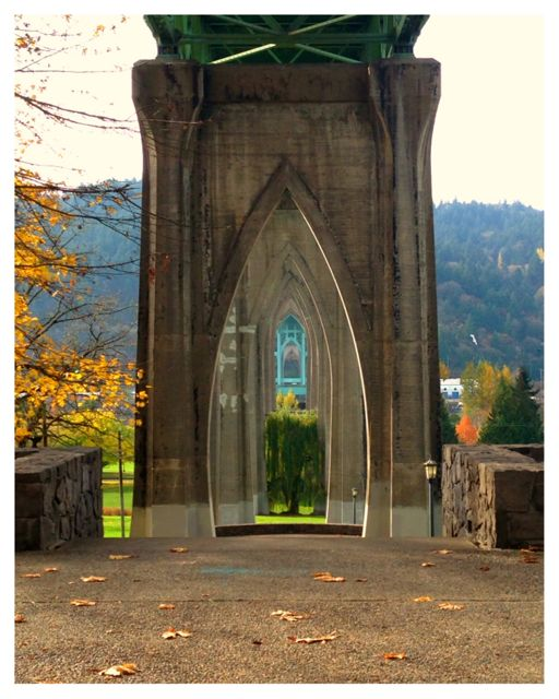 Cathedral Park in St. Johns Oregon