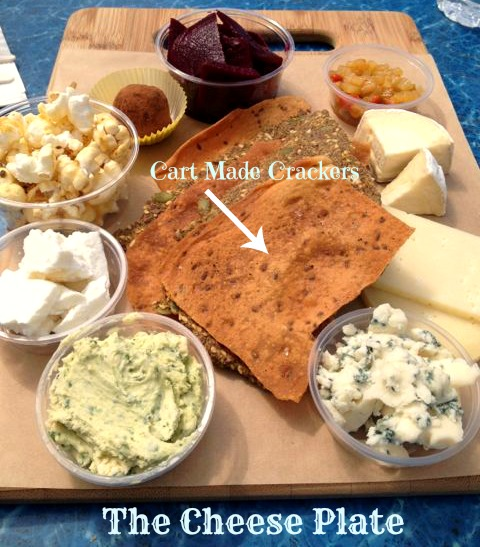 The Oregon Cheese Lovers plate from The Cheese Plate
