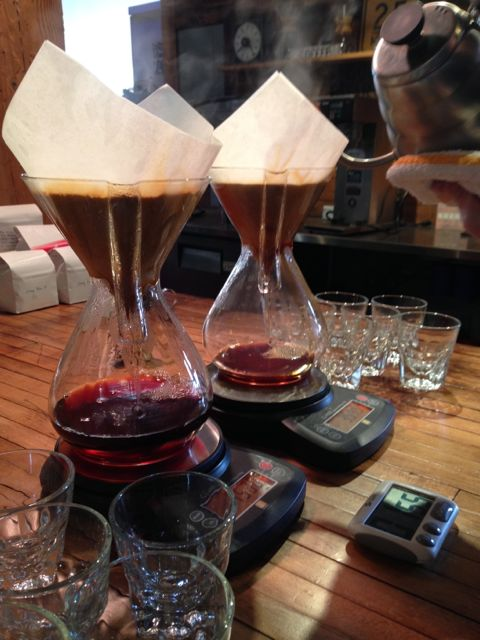 Chemex at Water Avenue Coffee