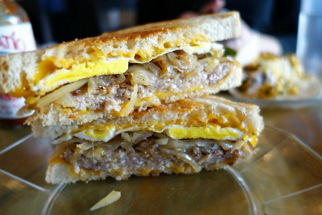 Bare Bones build your own breakfast sandwich