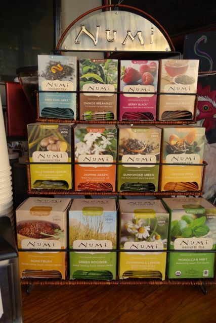 Great tea selection