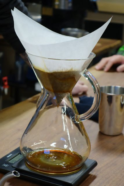 Chemex brew method