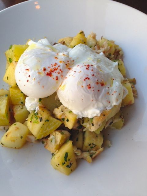 Smoked Trout Hash from Accanto.
