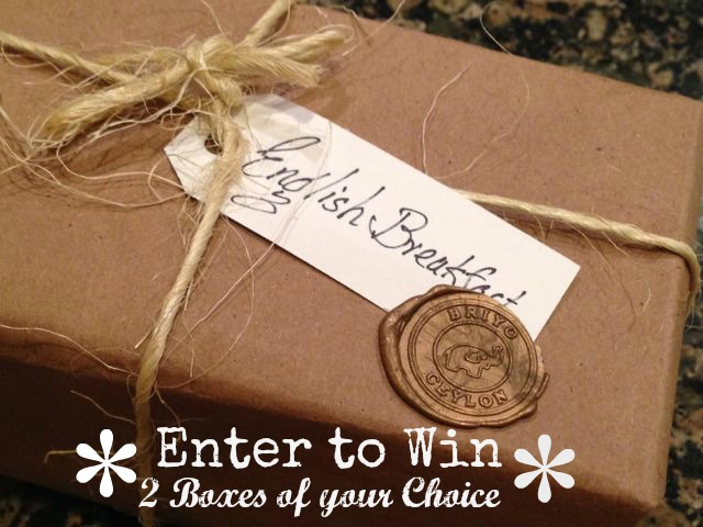 Enter to Win Tea from Bry