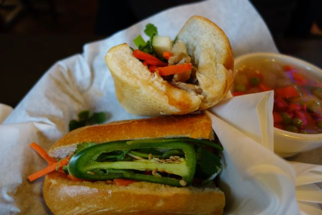 Lemongrass Banh Mi from Lela's Bistro