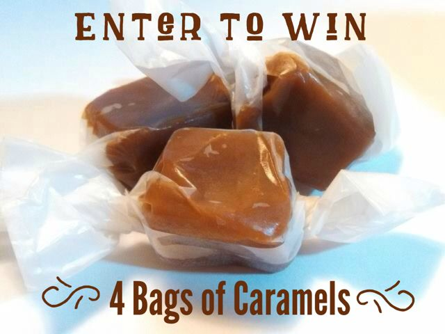 Enter to win these delicious caramels.