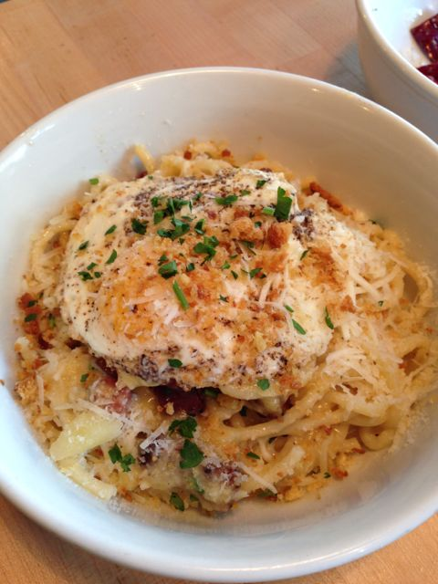 Carbonara from Grassa in PDX
