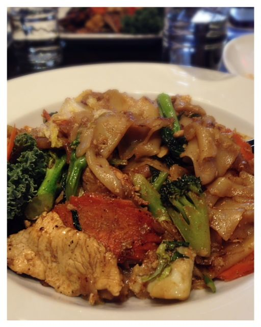 Pad See Ew from Thai Bloom Beaverton, OR