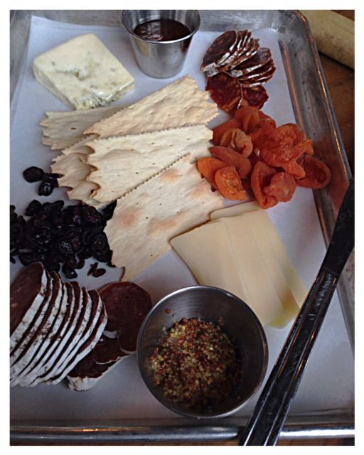 Meat and Cheese Plate from Red Hills Market