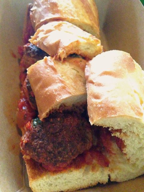 Meatball Sandwich from Italian Market