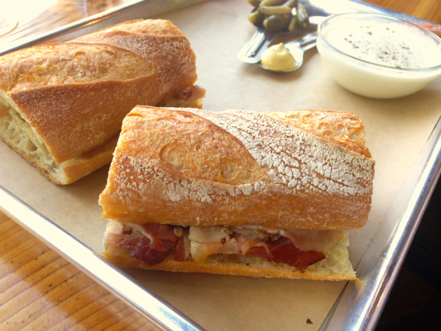 Ham Sandwich from Cheese and Crack