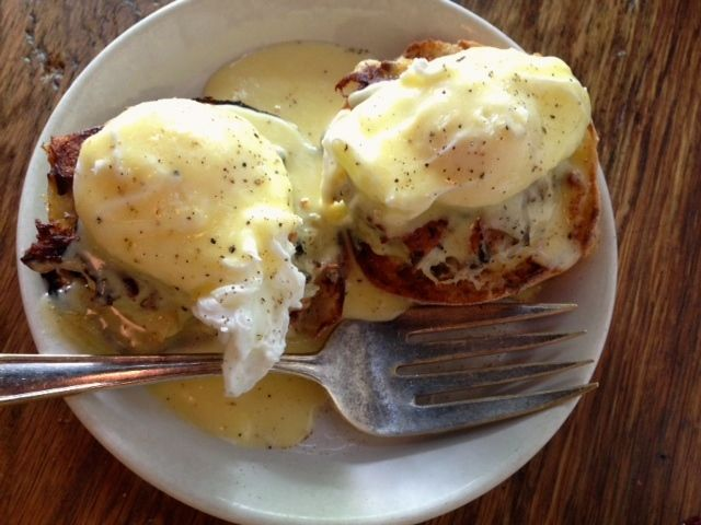 I always get the Eggs Benedicts. Always!