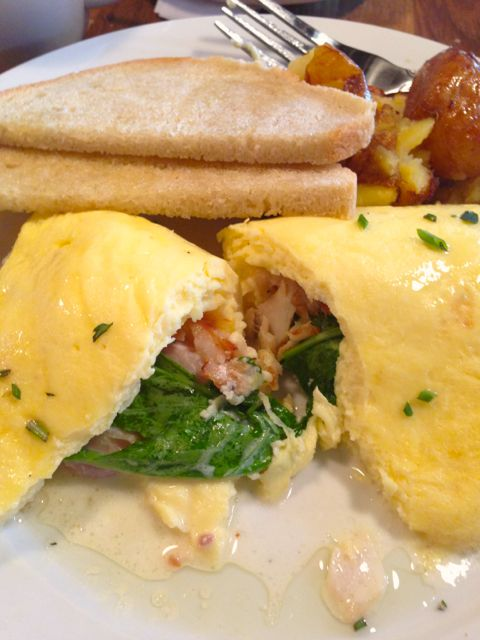 Smoked Trout Omelet