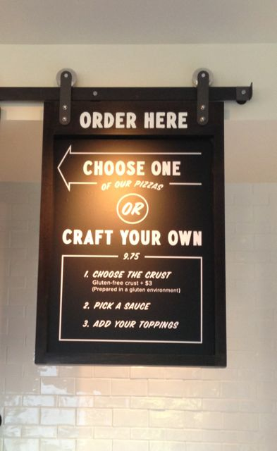 Choose a pizza of your choice or create your own