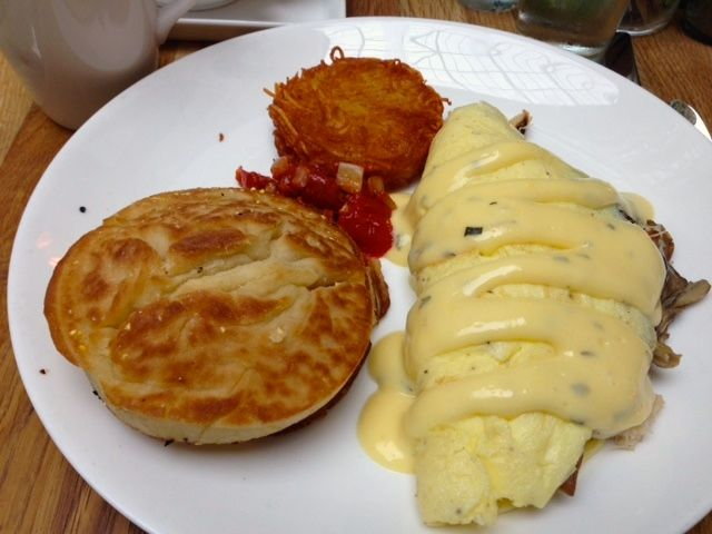 Dungeonous crab omelet