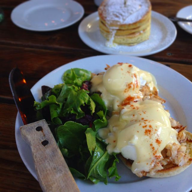 Eggs Benedict from Interurban