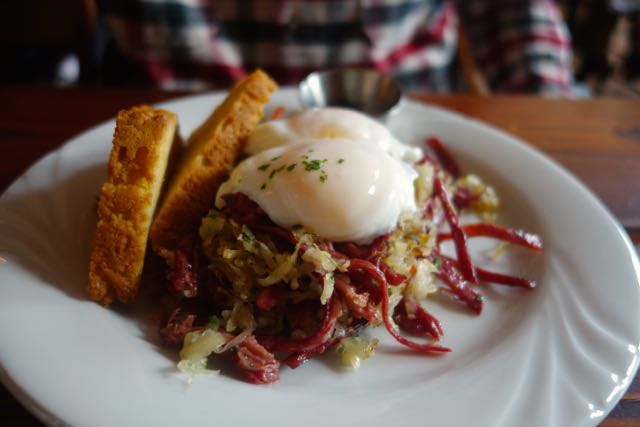 Corned Beef Hash from Bad Habit Room in NE Portland
