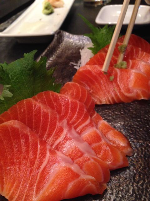 Ocean trout from masu sushi