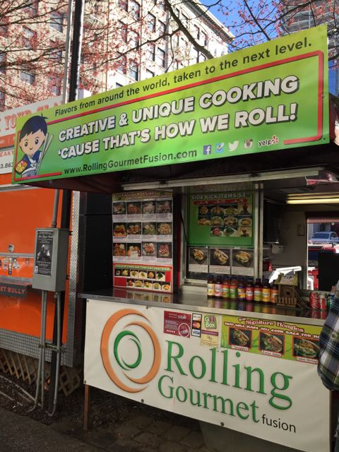 Rolling Gourmet Fusion is part of the Downtown Portland Scene