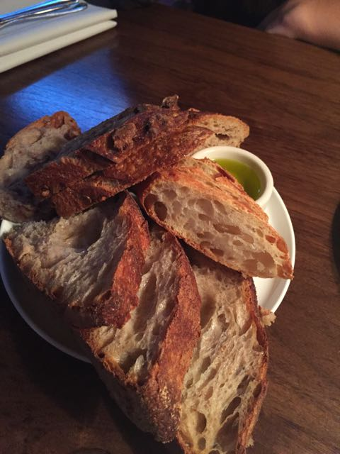 Lots of fresh bread options made in house. Order the butter, it's worth it.