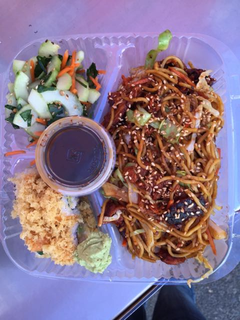 Yakisoba Bowl from Rolling Gourmet Fusion