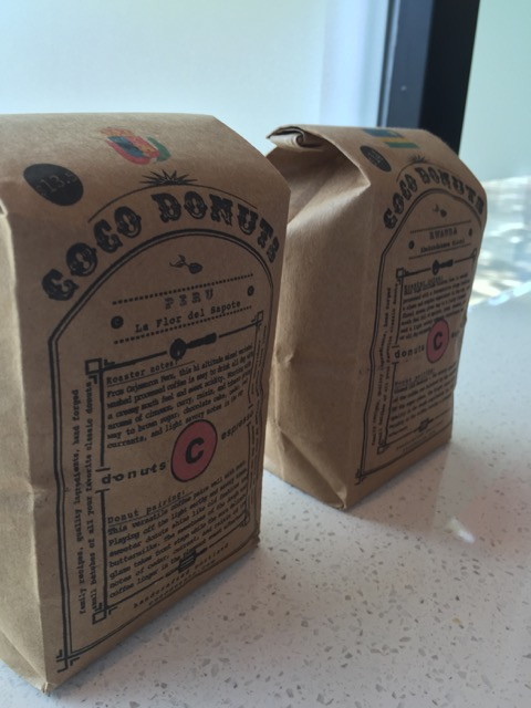 Coco Donuts roast their own coffee so you can pair it perfectly with their donuts