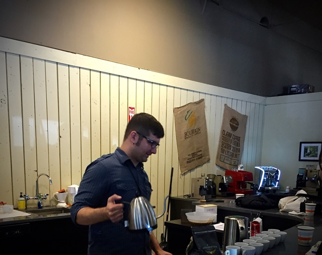 Demo and Education from Seattle Coffee Gear