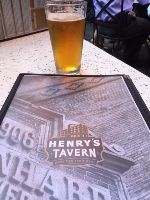 Beer, it's what's for dinner at Henry's Tavern